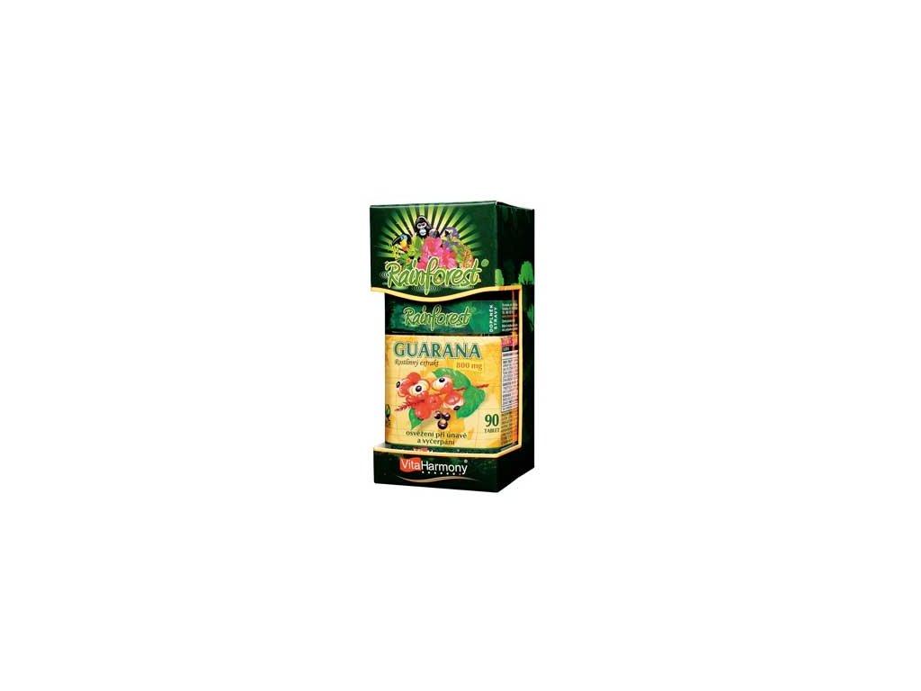 Guarana 800 mg - 90 tbl. RainForest®