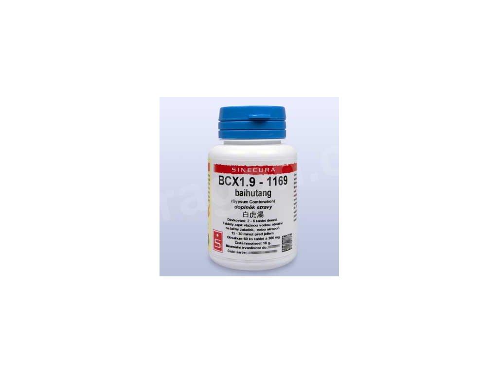 BCX1.9-1169 baihutang (tablety)