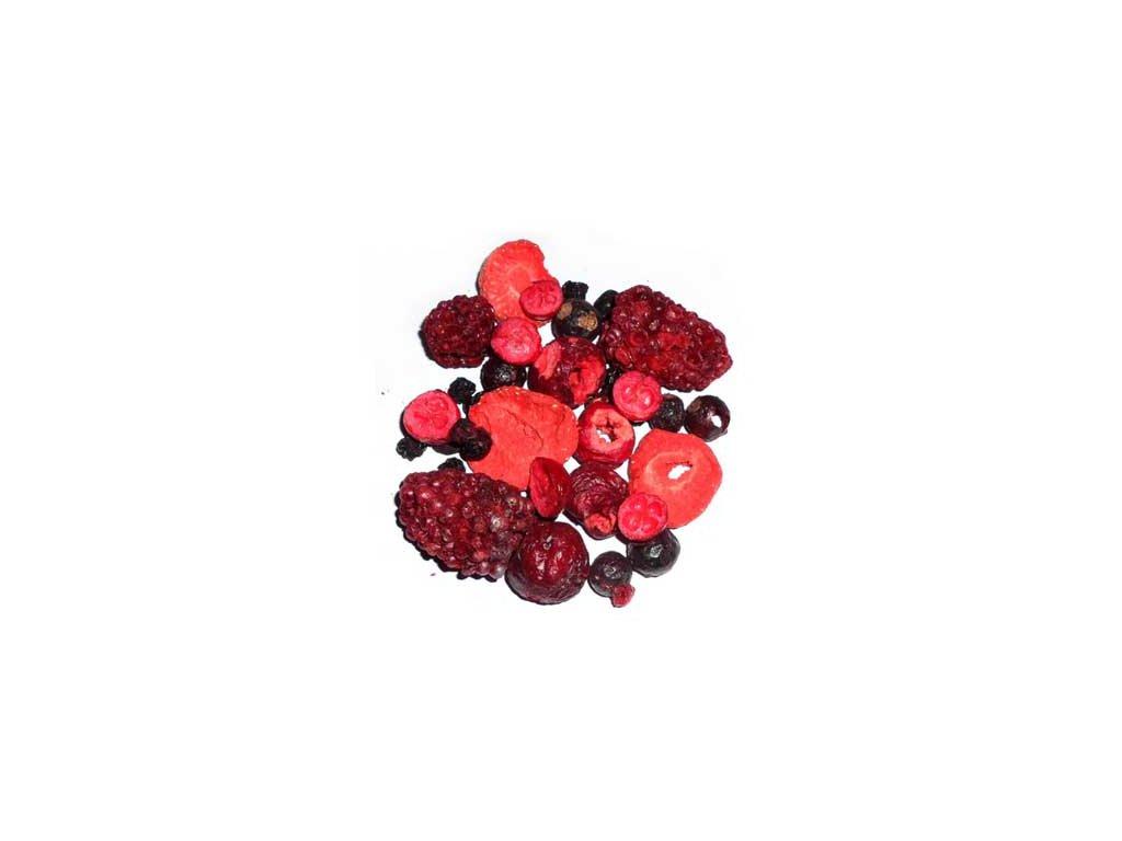 Zahradní směs ovoce  sušená mrazem - lyofilizovaná 1000g
