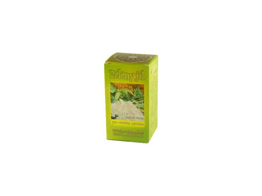 Zelený jíl - tobolky