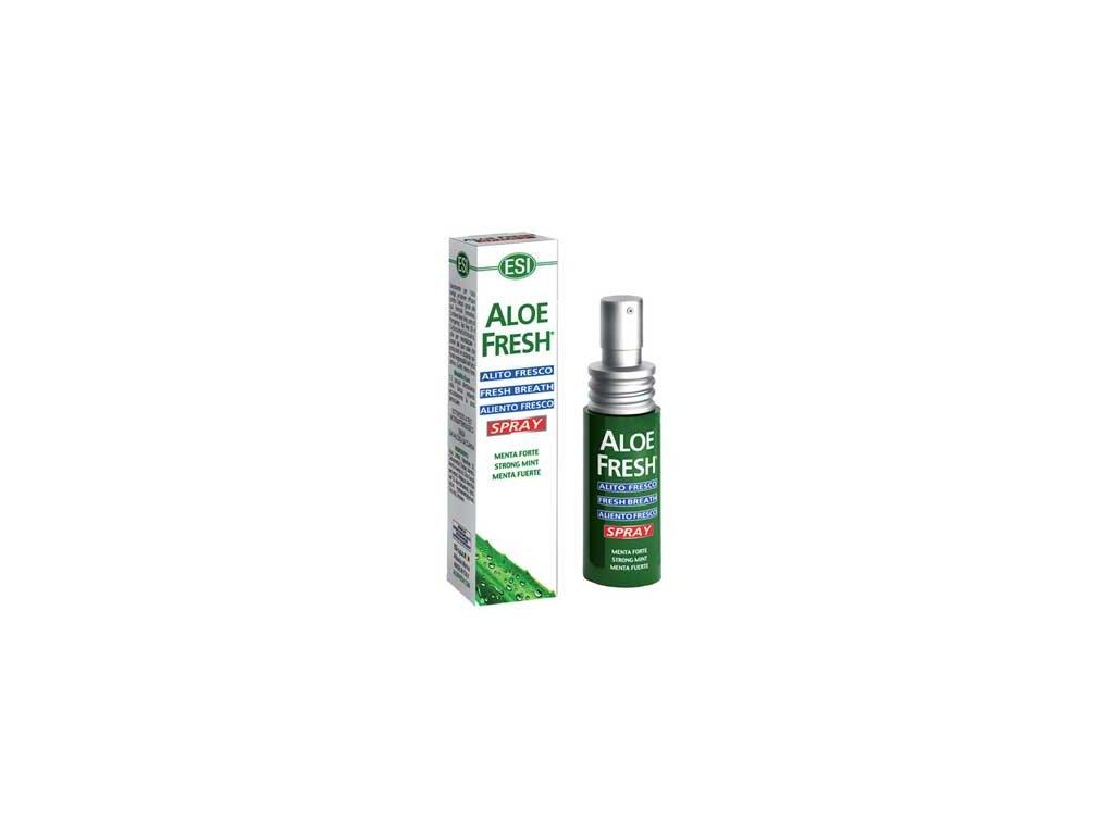 Aloe Vera - Sprej pro svěží dech  ESI 15ml