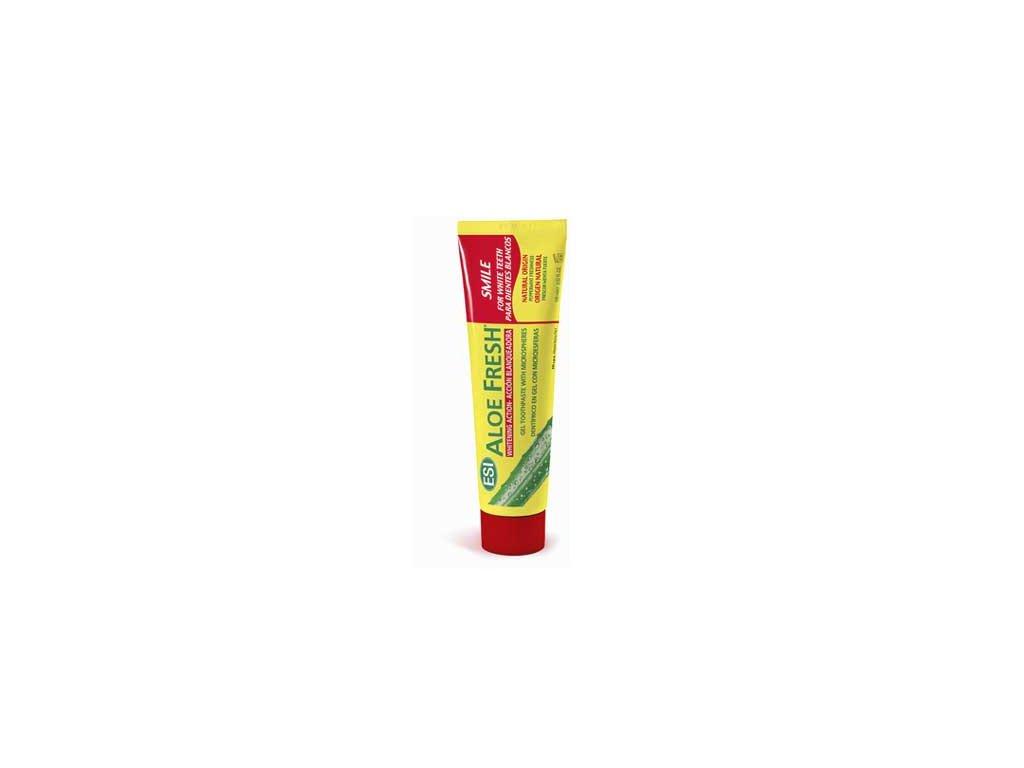 Zubní pasta Smile - jemně bělící Aloe Fresh Smile ESI 100ml