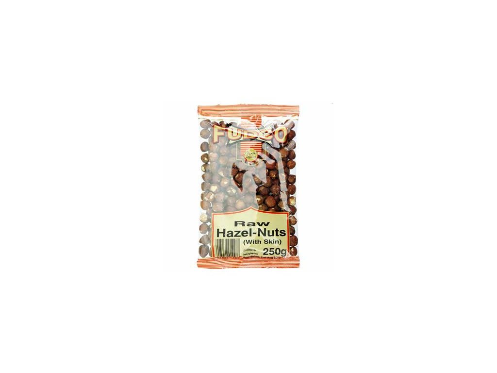 Lískové ořechy, Hazel nuts Fudco Raw 200g