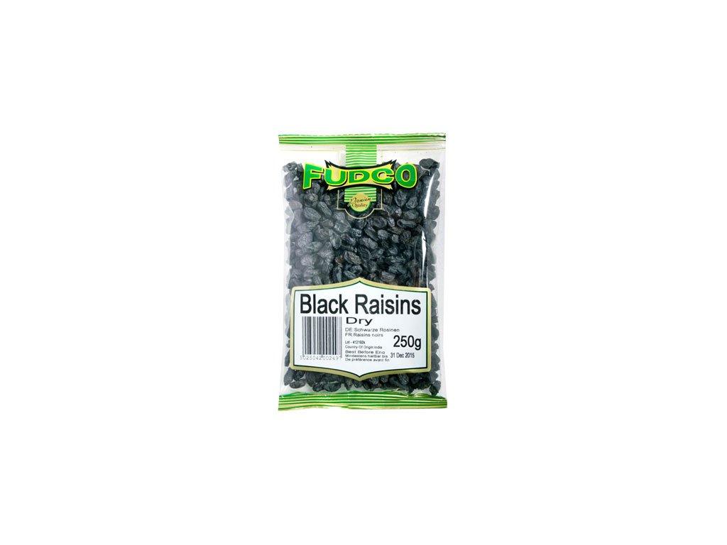 Rozinky černé-sušené na slunci Fudco 250g