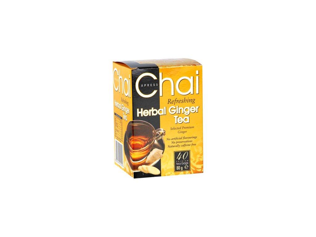 CHAI Čaj Zázvor 40 sáčků FUDCO