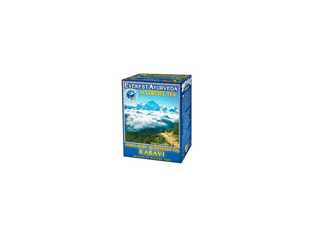 KARAVI - Ájurvédský čaj - Dráždivé potraviny & citlivý tračník, Everest Ayurveda 100g