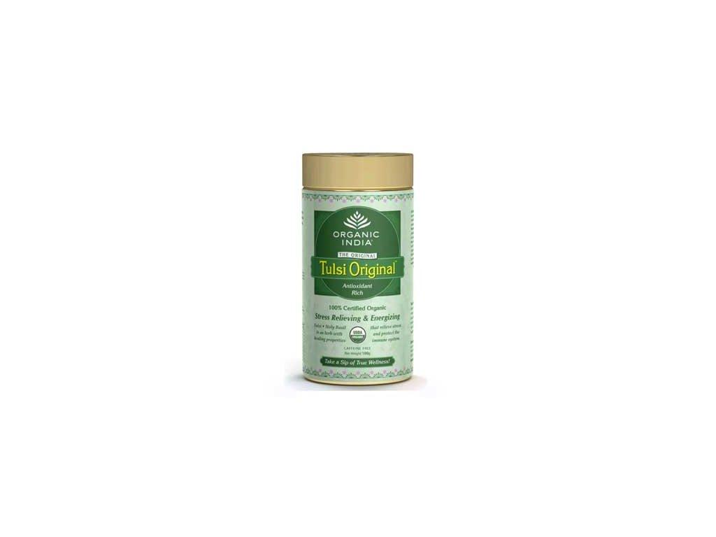 Tulsi Original-Tea BIO, plech, Organic India 100g