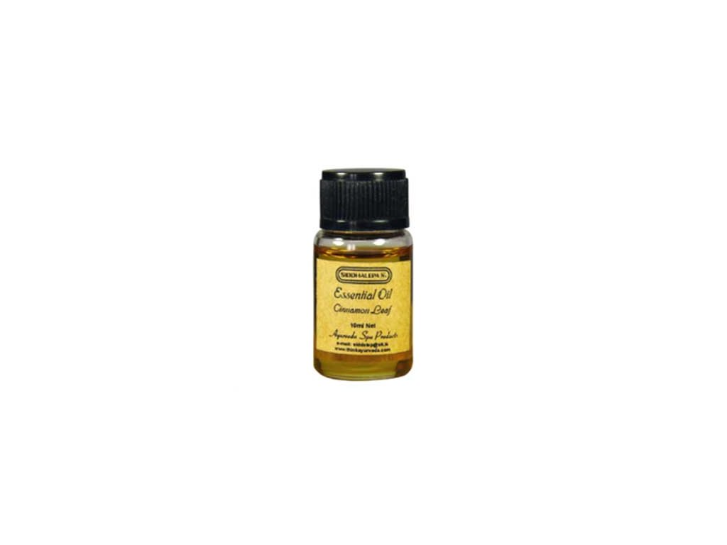 Esenciální olej Cinnamon Leaf, Skořice Siddhalepa 10ml