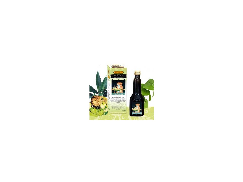 Ayur Oil 26 Vishnu Eranda - bylinný balzám na svaly  220ml