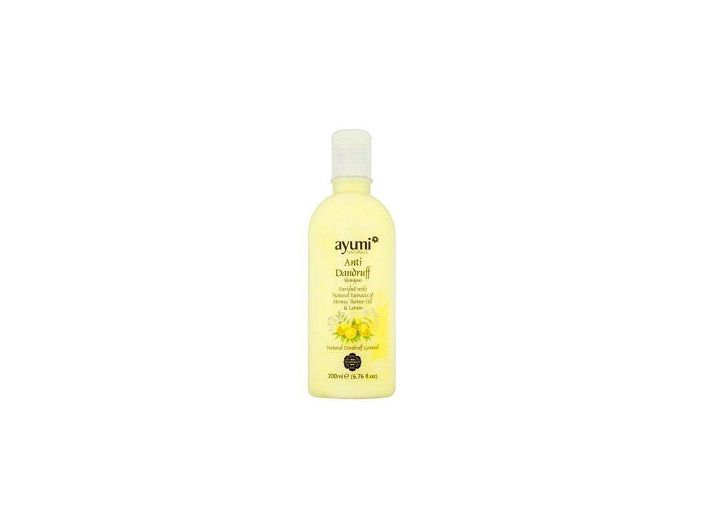 Šampon proti lupům Henna,Teatre,citron 200ml AYUURI