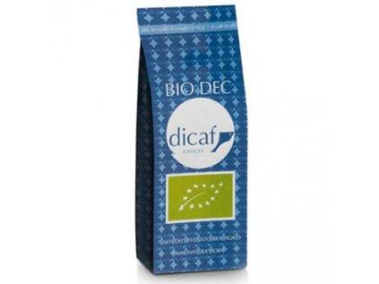 Káva mletá bez kofeinu DICAF 250g BIO