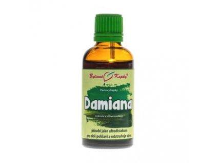 Damiana - bylinné kapky (tinktura) 50ml