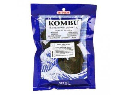 Kombu Mitoku řasa (mořská zelenina) Laminaria Sufood 50g