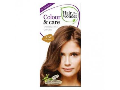 Přírodní dlouhotrvající barva Oříšková 6,35 Hair wonder 100ml