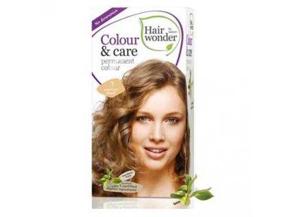 Přírodní dlouhotrvající barva Střední blond 7 Hair wonder 100ml