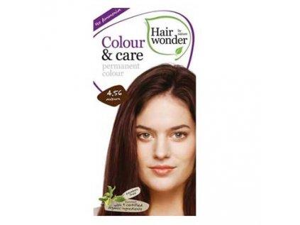 Přírodní dlouhotrvající barva Kaštanová 4,56 Hair wonder 100ml