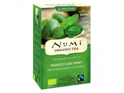 NUMI čaj bio Marocká máta 18 sáčků