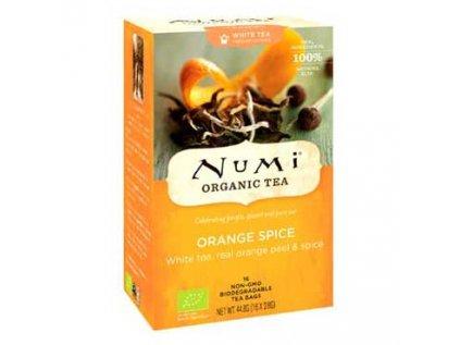 NUMI čaj Bio Bílý Pai Mu Tan s pomerančem 16 sáčků