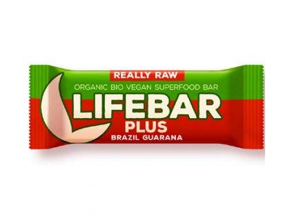 Lifebar Plus Guarana a Brazil BIO Vegan 47g