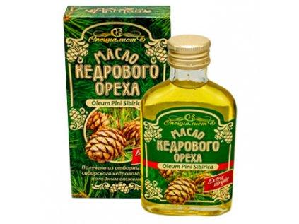 Extra Virgin Altajský Cedrový olej Za studena lisovaný 100ml