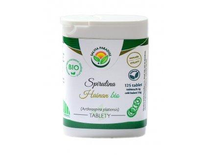 Spirulina Hainan Bio tablety