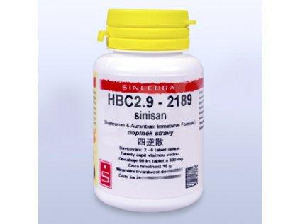 HBC2.9 - sinisan - pian/tablety 60tab. Exp.  01.05.2019