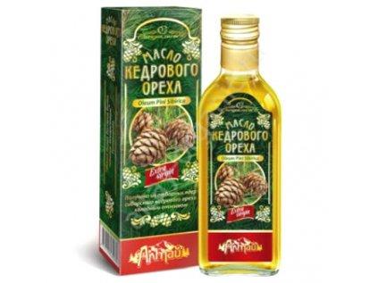 Extra Virgin Altajský Cedrový olej Za studena lisovaný 250ml
