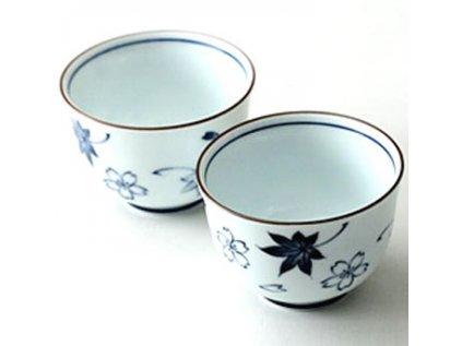 Japonská tradiční porcelánová miska Tokoname-yaki