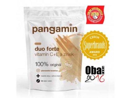 Pangamin® DUO FORTE, vitamín C + E a Zinek, sáček 90tab.
