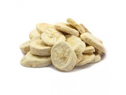 Banán - Křupavé plátky mrazem sušené (Lyofilizované) 350g