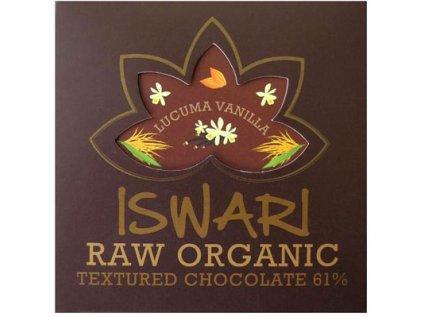 Raw BIO čokoláda Vanilla-Lucuma 75g Iswari