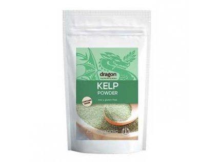 Kelp - mořská řasa, prášek Bio Raw 100g Dragon Superfoods