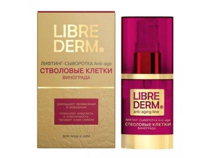 LIBREDERM Kmenové buňky z hroznového vína, Liting-sérum Anti-Age (obličej, krk,dekolt) 30ml