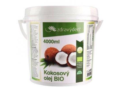 Kokosový olej BIO 4000 ml Srí Lanka