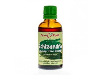 Schizandra (klanopraška čínská) kapky (tinktura) 50ml