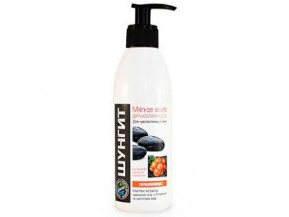 Šungitové jemné Hydratační dermatologické mýdlo na citlivou pokožku Fratti 300ml
