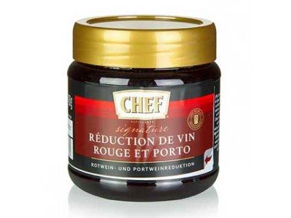 CHEF Premium Koncentrát - červené víno & portské víno - redukce, na cca 12 litrů, 450g