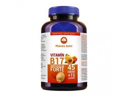 Amygdalin Forte vitamín B17, 45+15tab.