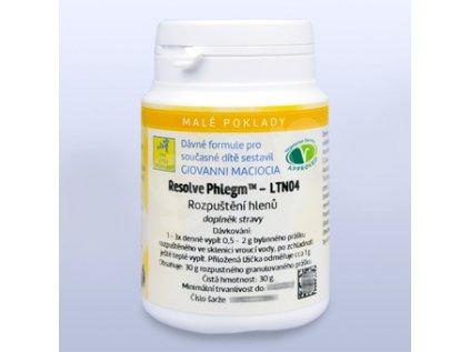 LTN04 Rozpuštění hlenů – keli/rozpustné granulky 30g