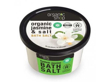 Sůl do koupele - Kašmír a jasmín Organic Shop 250g