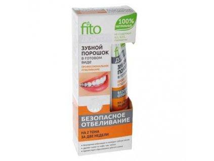 Zubní prášek v hotovém stavu - Profesionální bělení Fito Kosmetik 45ml