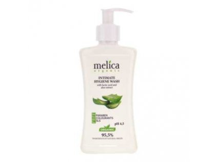 Gel na intimní hygienu s mléčnou kyselinou a extraktem Aloe Vera Melica 300ml