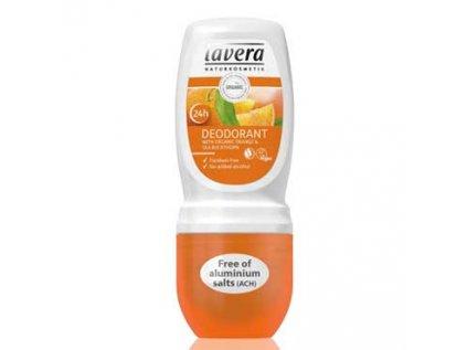 Jemný roll-on, Deodorant BIO Pomeranč, Rakytník Lavera 50ml