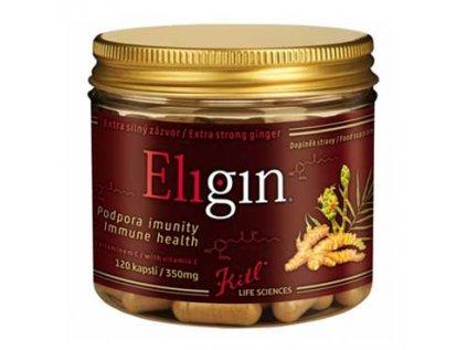 Bio Eligin, extra silný zázvor s vitamínem C, Kitl 120cps