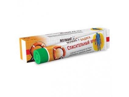 Biologicky aktivní balzám na tělo Badjaga, Spongilla (houba rybniční) + mumio Záchranný Kruh® 50g