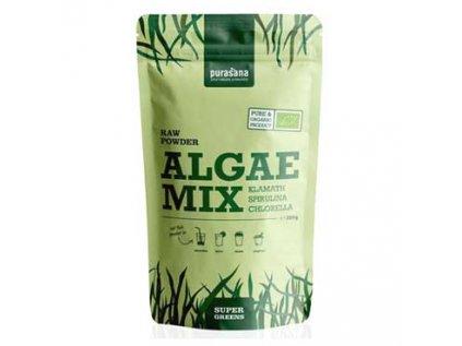 Algae Mix Spiruliny, Chlorelly a Klamathu BIO Purasana 200g