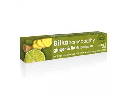 Zubní pasta Homeopatická - Zázvor a Limetka BILKA Homeopathy 75ml
