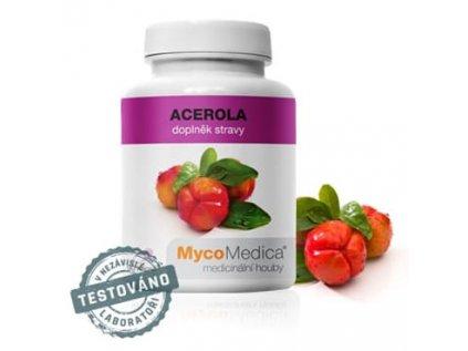 Acerola 90 kapslí á 500mg extraktu MycoMedica