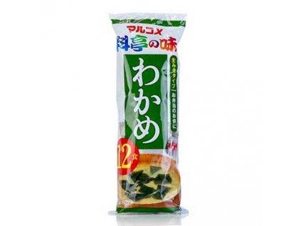Miso polévka - Instant Wakame Misoshiro (porce sáčky) 12x18g