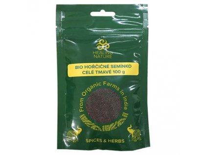 Hořčičné semínko celé tmavé BIO Healing Nature 100g